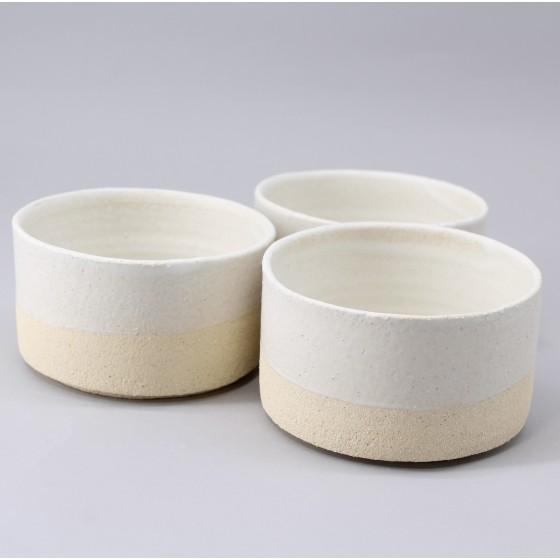 White stoneware ramekin