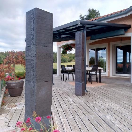 Terrace decoration sculpture