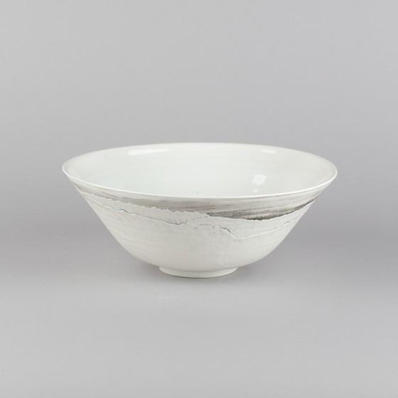 Porcelain ramen soup bowl
