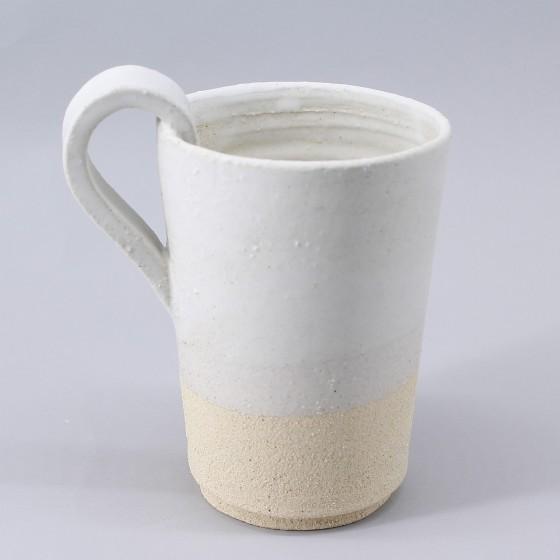 """Mug grès blanc """"..."""